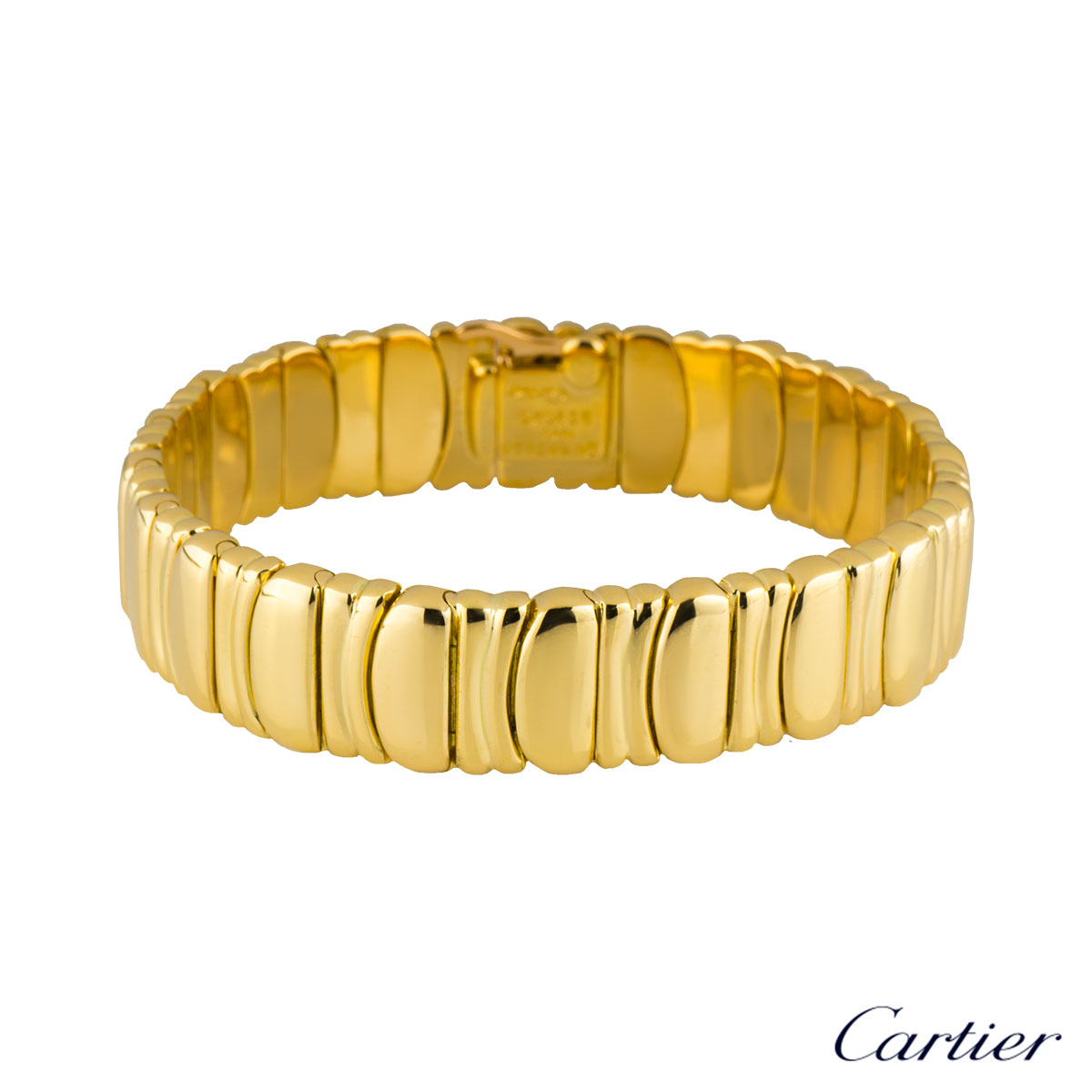 Cartier Yellow Gold Baignoire Bracelet